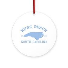Kure Beach NC Ornament (Round)