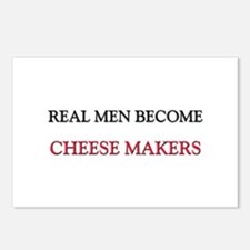 Real Men Become Cheese Makers Postcards (Package o