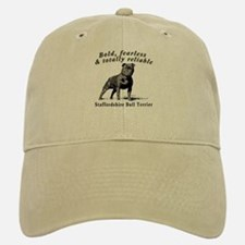 Bold Fearless & Totally Reliable Baseball Baseball Cap