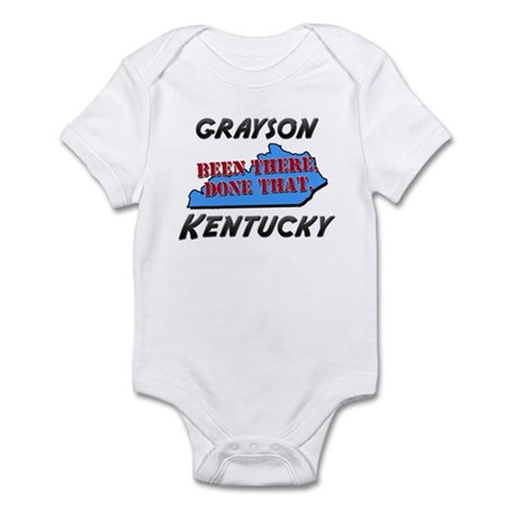 grayson kentucky - been there, done that Infant Bo