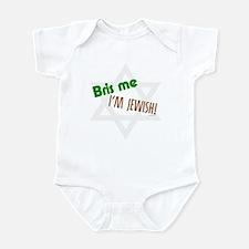 Bris Me I'm Jewish Infant Bodysuit