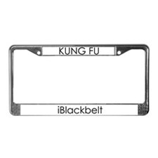 Martial Arts iBlackbelt License Plate Frame
