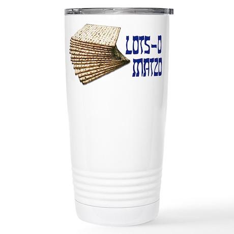 Lots-o Matzo Stainless Steel Travel Mug