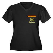 Spanish Legion Women's Plus Size V-Neck Dark T-Shi