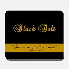 Black Belt Journey Mousepad