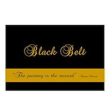 Black Belt Journey Postcards (Package of 8)
