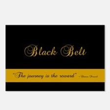 Black Belt Journey Postcards (Package of 8)