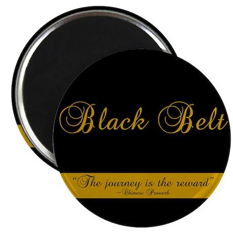 Black Belt Journey Magnet