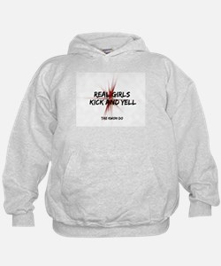 Tae Kwon Do Girls Kick Hoodie