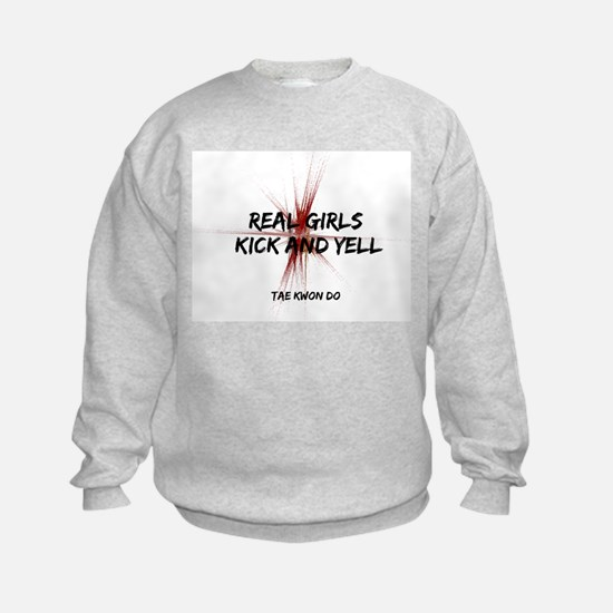 Tae Kwon Do Girls Kick Sweatshirt