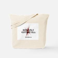 Tae Kwon Do Girls Kick Tote Bag