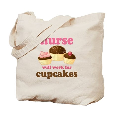 Nurse Gift Cupcakes Tote Bag