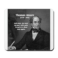Irish Poet: Thomas Moore Mousepad