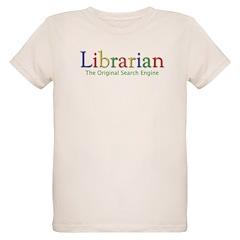 Librarian Organic Kids T-Shirt