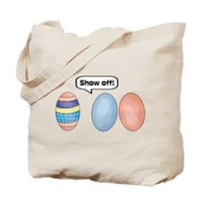 Show Off Easter Eggs Tote Bag