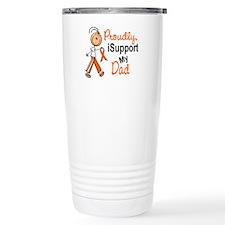 iSupport My Dad SFT Orange Travel Mug