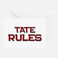 tate rules Greeting Card