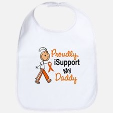 iSupport My Daddy SFT Orange Bib
