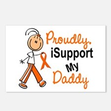iSupport My Daddy SFT Orange Postcards (Package of