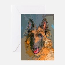 Arty Terv Greeting Cards (Pk of 10)
