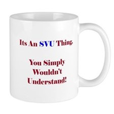 SVU Thing - Simply Wouldn't Understand Mug