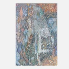 Abstract Horse Postcards (Package of 8)