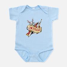 I LOVE ALICE - PINK EYES Infant Bodysuit