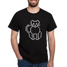 Pixel Cat Black T-Shirt