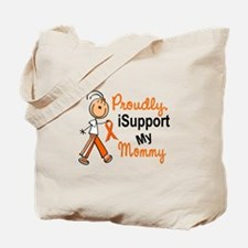 iSupport My Mommy SFT Orange Tote Bag