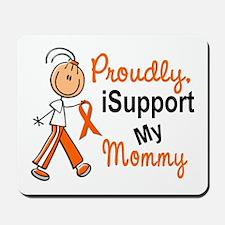 iSupport My Mommy SFT Orange Mousepad