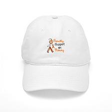 iSupport My Mommy SFT Orange Baseball Cap