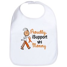 iSupport My Mommy SFT Orange Bib