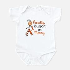 iSupport My Mommy SFT Orange Infant Bodysuit