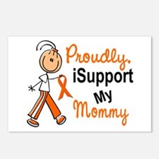 iSupport My Mommy SFT Orange Postcards (Package of