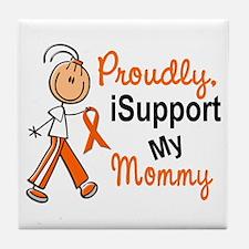 iSupport My Mommy SFT Orange Tile Coaster