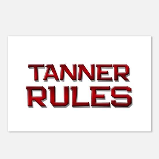tanner rules Postcards (Package of 8)