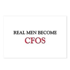 Real Men Become Cfos Postcards (Package of 8)