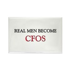 Real Men Become Cfos Rectangle Magnet