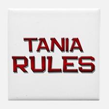 tania rules Tile Coaster