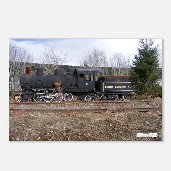 Comox Railway #11 Postcards (Package of 8)