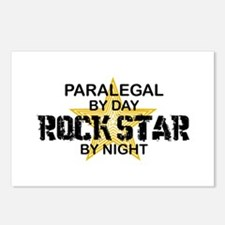 Paralegal Rock Star by Night Postcards (Package of
