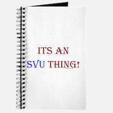 Its An SVU Thing! Journal