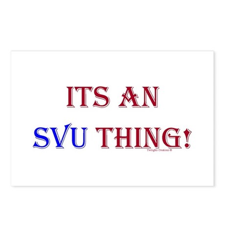 Its An SVU Thing! Postcards (Package of 8)
