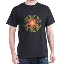 Daylily Black T-Shirt