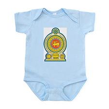 Sri Lanka Coat Of Arms Infant Creeper