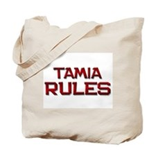 tamia rules Tote Bag