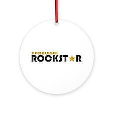 Paralegal Rockstar 2 Ornament (Round)