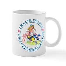 I'M LATE, I'M LATE Small Mug
