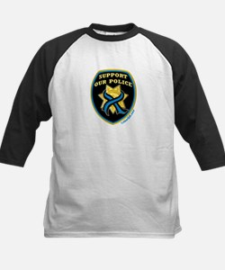 Thin Blue Line Support Police Tee