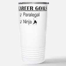 Paralegal Ninja Career Goals Travel Mug